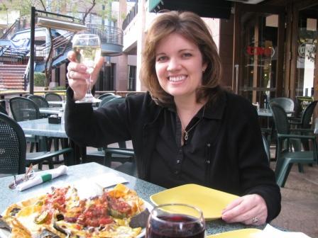 Lynda cheers