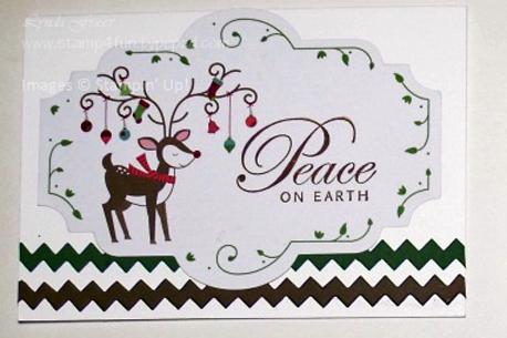 Reindeer-card