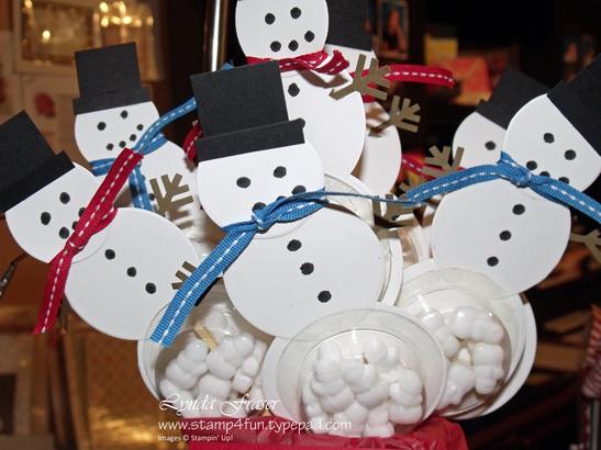 Snowmen-pops